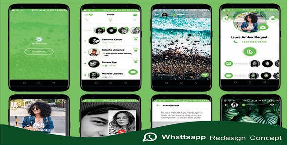 WhatsApp Redesign - React Native Social Media Messenger UI Kit