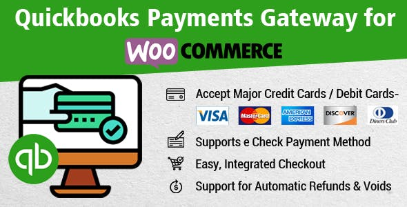 Quickbooks Payments Gateway for WooCommerce