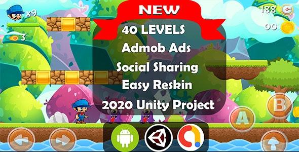 Super World Adventure  Platformer Complete Unity Game - CodeCanyon Item for Sale