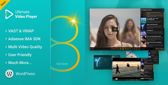 Ultimate Video Player Wordpress Plugin - CodeCanyon Item for Sale