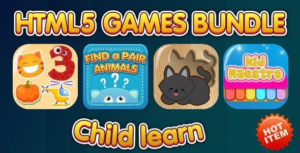 HTML5 Children Games Bundle