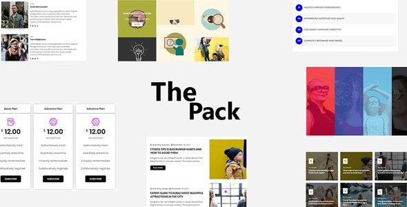 The Pack - Elementor Page Builder Addon - CodeCanyon Item for Sale