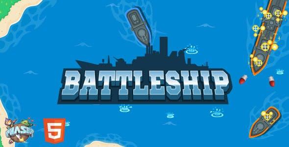 Battleship - HTML5 Game (Phaser 3)