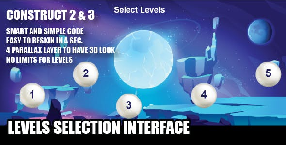 Levels Selection Template