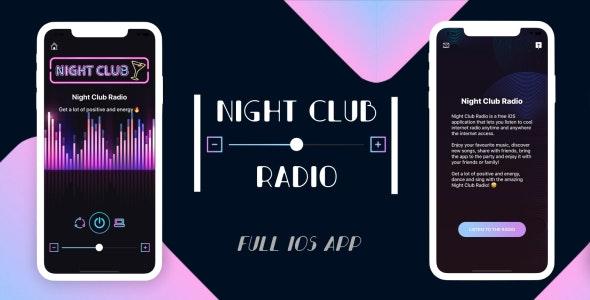 Night Club Radio - Full iOS Application - CodeCanyon Item for Sale