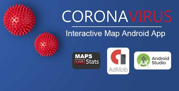 "CoronaVirus ""COVID-19"" - Real Time MAP Tracker - CodeCanyon Item for Sale"