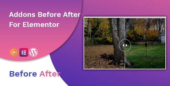 Before After Image Slider Elementor Addon