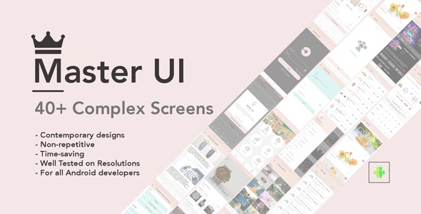 Master UI - CodeCanyon Item for Sale