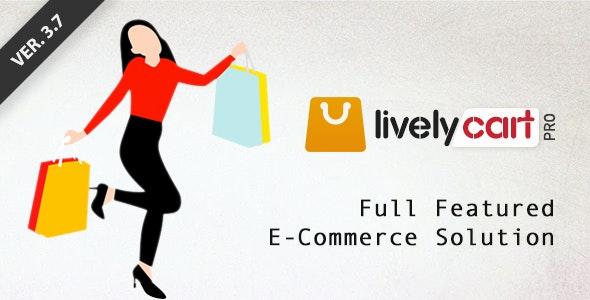 LivelyCart PRO - Laravel E-Commerce Platform | Shopping Cart - CodeCanyon Item for Sale