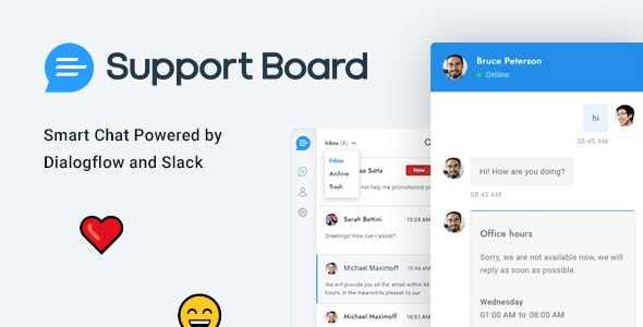 Chat - Support Board - PHP Chat Plugin - CodeCanyon Item for Sale