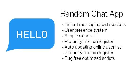 Free random chat app