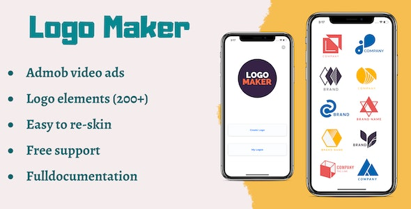 Logo maker for iOS + photo edit - CodeCanyon Item for Sale