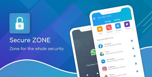 Secure Zone - App Locker , Call Blocker & Gallery Vault