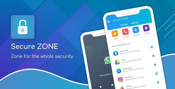 Secure Zone - App Locker , Call Blocker & Gallery Vault - CodeCanyon Item for Sale