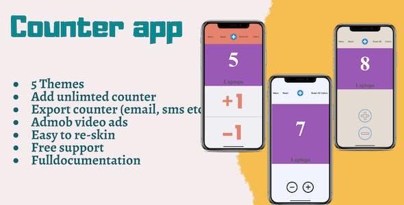 Counter Utility app