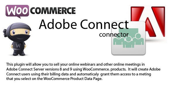 WooCommerce to Adobe Connect connector 3.4