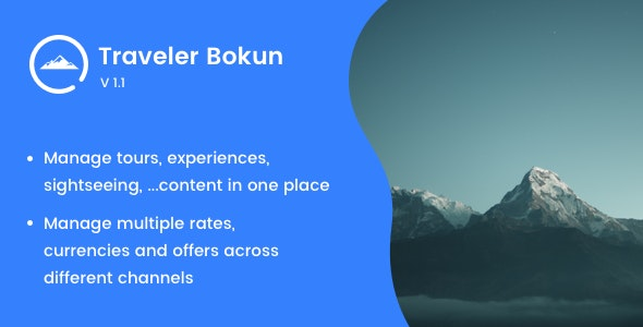Traveler Bokun (Add-on) - CodeCanyon Item for Sale