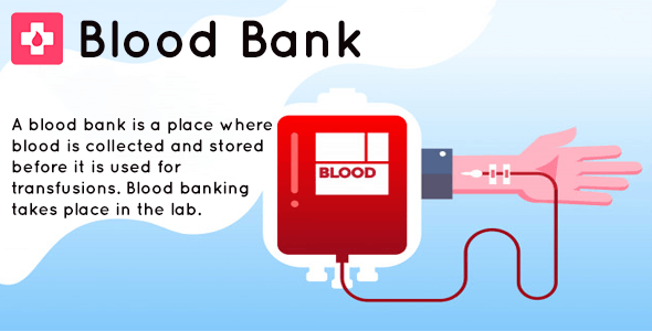 Blood Bank - iOS app for blood donner - CodeCanyon Item for Sale