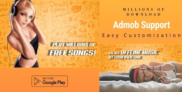 Accent Mp3 Music Downloader And Player - CodeCanyon Item for Sale