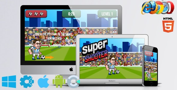 Super Shooter - CodeCanyon Item for Sale