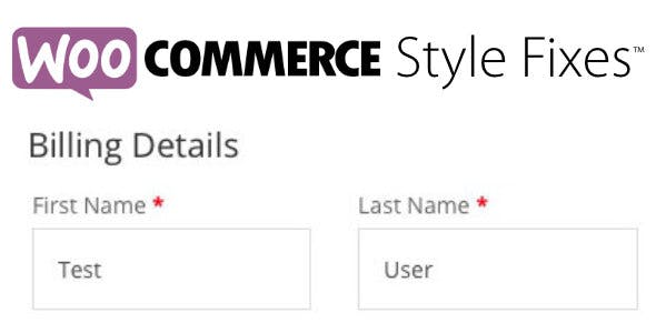 WooCommerce Style Fixes