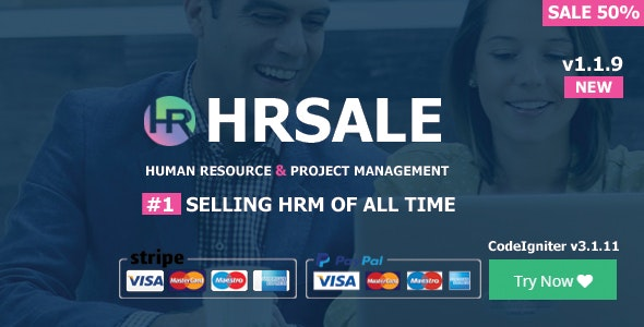 HRSALE - The Ultimate HRM - CodeCanyon Item for Sale