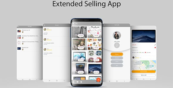 Extended Selling App with Firebase Realtime and Admin Panel