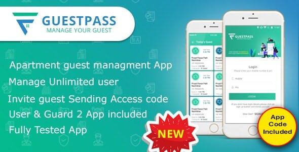 Guest Pass – Apartment Guest Management App