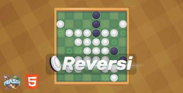 Reversi - HTML5 Board Game (Phaser 3)