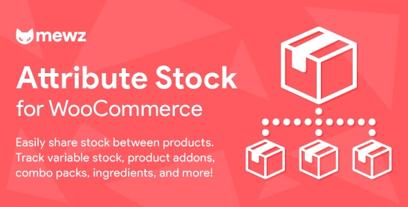 WooCommerce Attribute Stock – Share Stock Between Products - CodeCanyon Item for Sale
