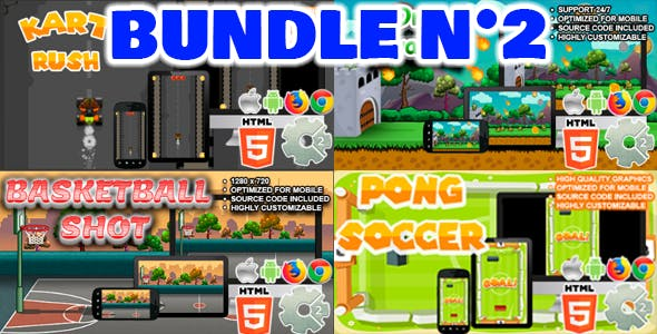 Bundle N°2 (  04 games | CAPX and HTML5 )