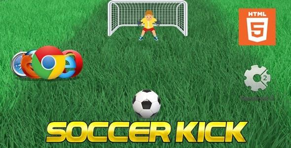 Soccer Kick - HTML5 - Casual Game