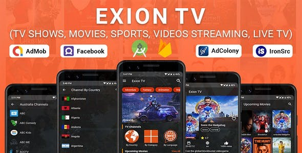 Exion TV - Watch Live IPTV Channels with Movies