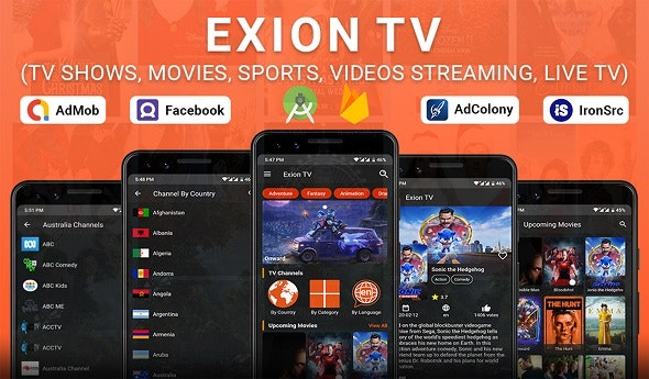Exion TV - Watch Live IPTV Channels with Movies - CodeCanyon Item for Sale