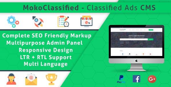 MokoClassified | Advanced Buy/Sell Classified Ads CMS Script