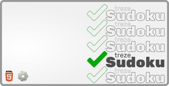 trezeSudoku - HTML5 Puzzle Game