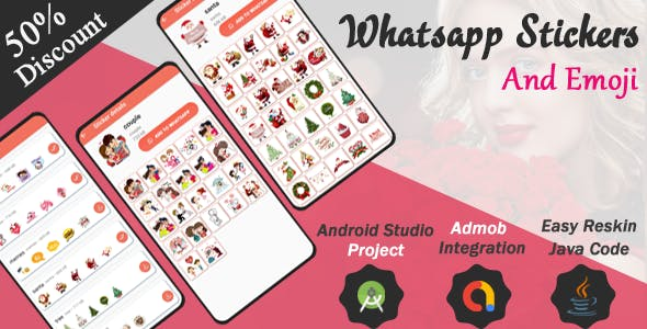 Whatsapp Stickers and Emoji And full Admob Integration