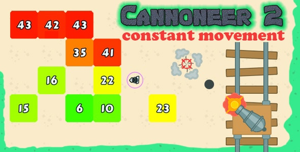 Cannoneer-2:Constant Movement - CodeCanyon Item for Sale