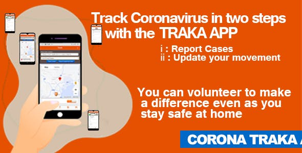 Coronavirus (COVID 19) Tracking App - Android, iOS, Web and Admin