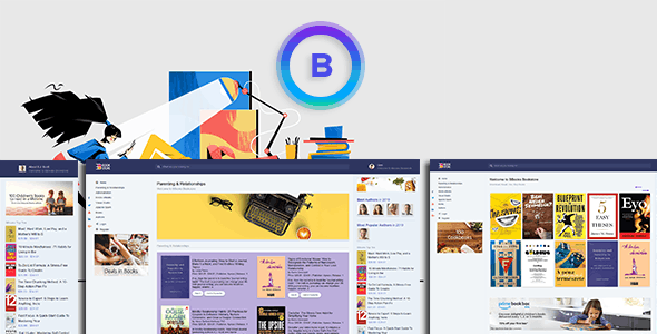BBook - BookStore Script System with website - CodeCanyon Item for Sale