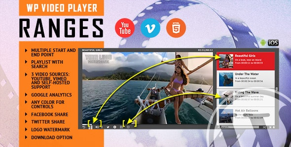 Universal Video Player - WordPress Plugin - 2