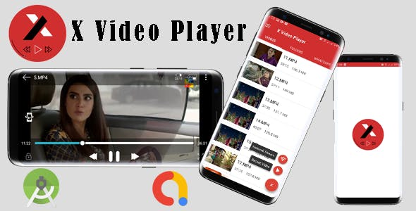 X Video Player-  Play Video Online(Network streaming)/Offline Admob Ads Integrated