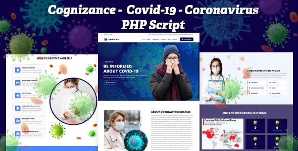 Cognizance -  Covid-19 Coronavirus Awareness Medical Prevention