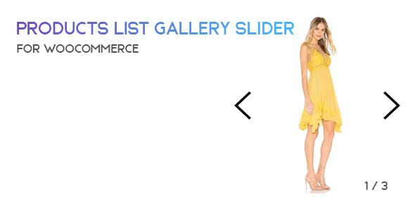 PLG - Products List Gallery Slider for WooCommerce