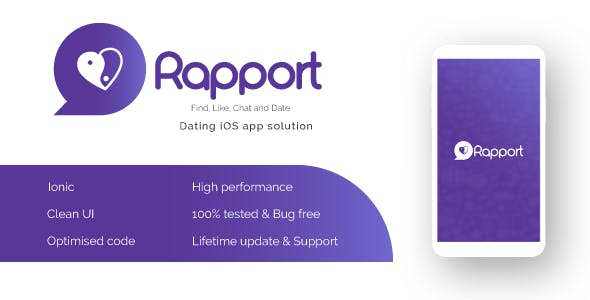 Rapport -   Dating App iOS Complete Solution