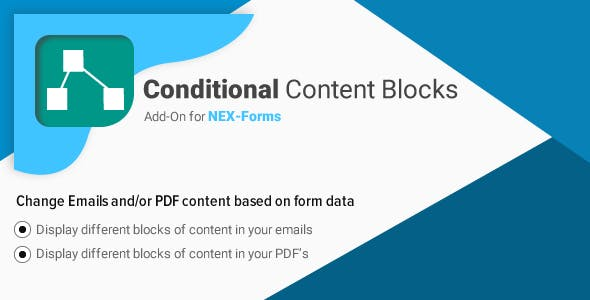 Conditional Content Blocks for NEX-Forms
