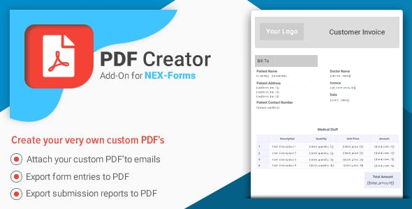 PDF Creator for NEX-Forms