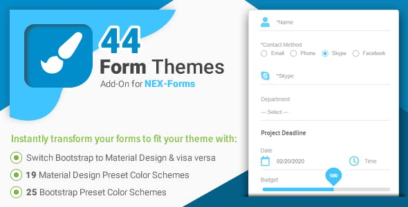Form Themes for NEX-Forms