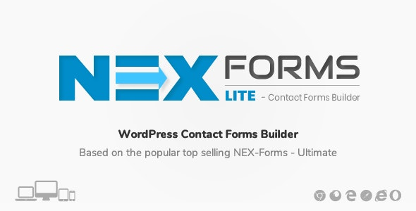 NEX-Forms LITE - WordPress Contact Form Builder - CodeCanyon Item for Sale