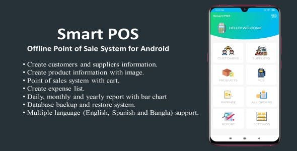 Smart POS-Offline Point of Sale System for Android